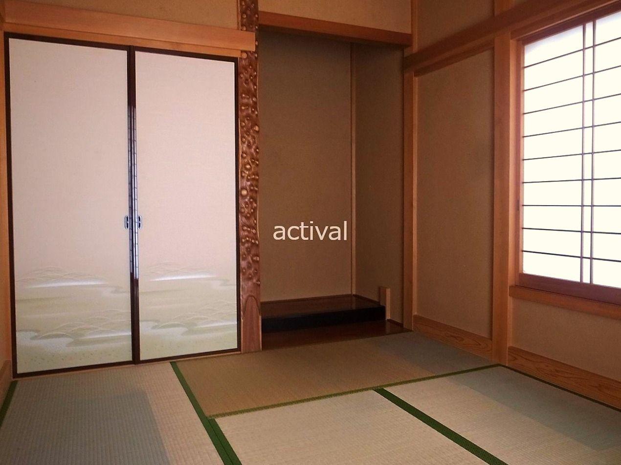 和室メリットは、その時その場面に合わせて、くつろぐスペースだったり、客間だったり、子どもの遊び場だったりと幅広い用途に使うことができます。