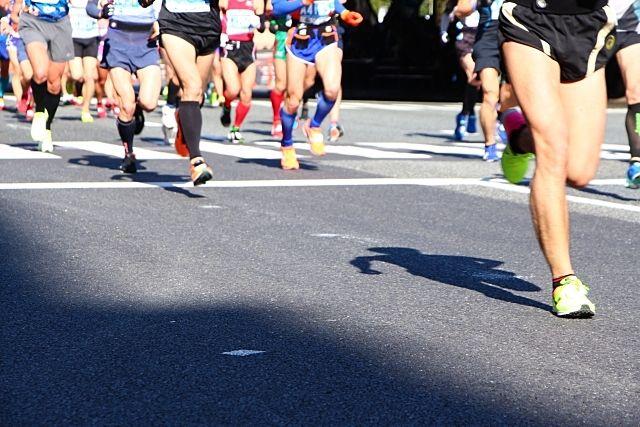 第54回越谷市元旦マラソン大会