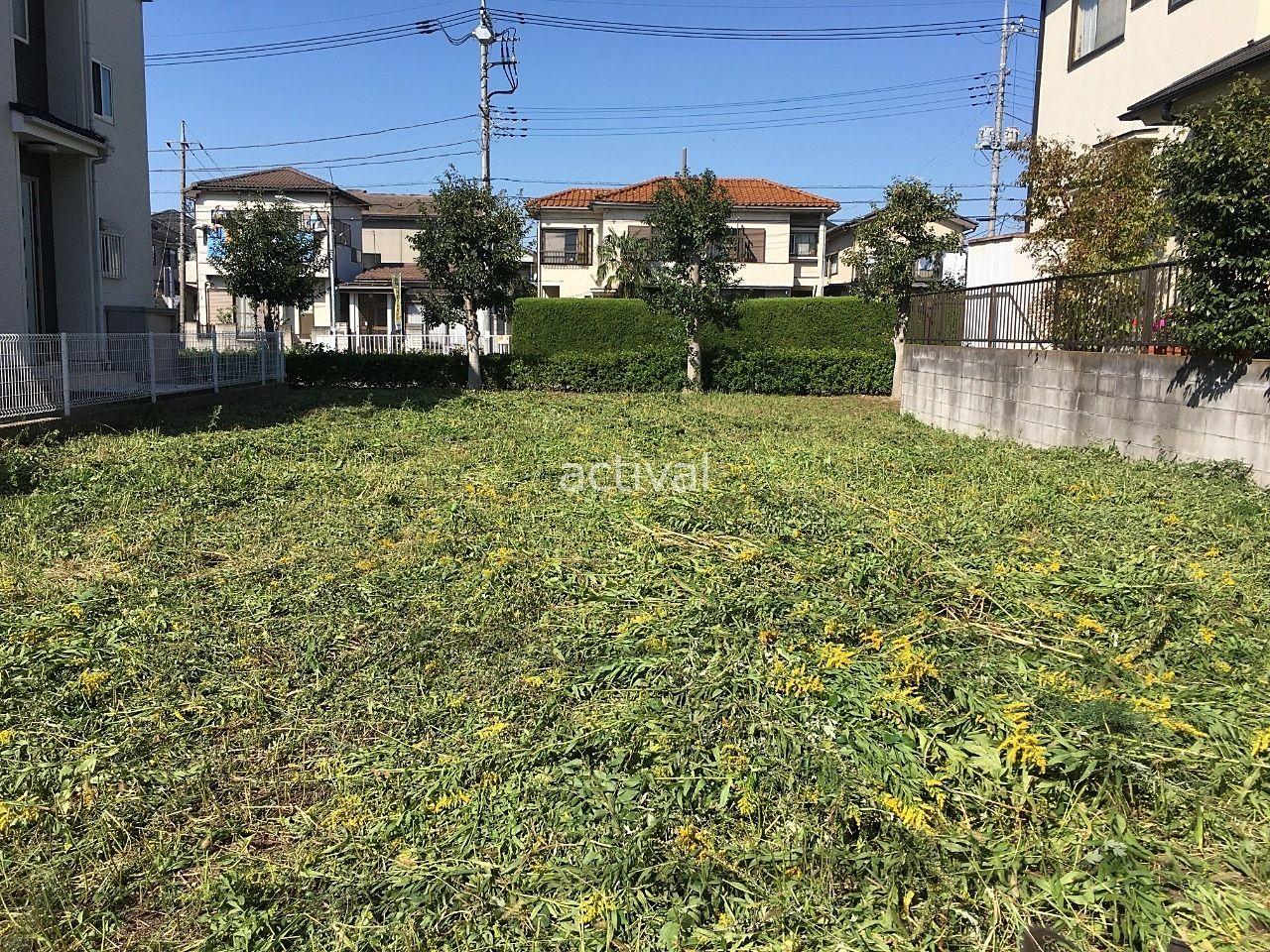 売却の依頼を受けた土地の除草作業完了です!