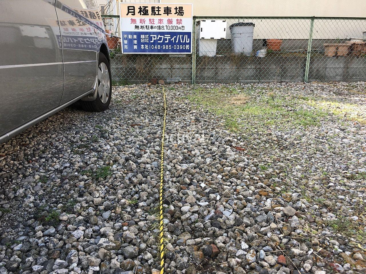 月極駐車場のロープ張り替え作業が完了しました!