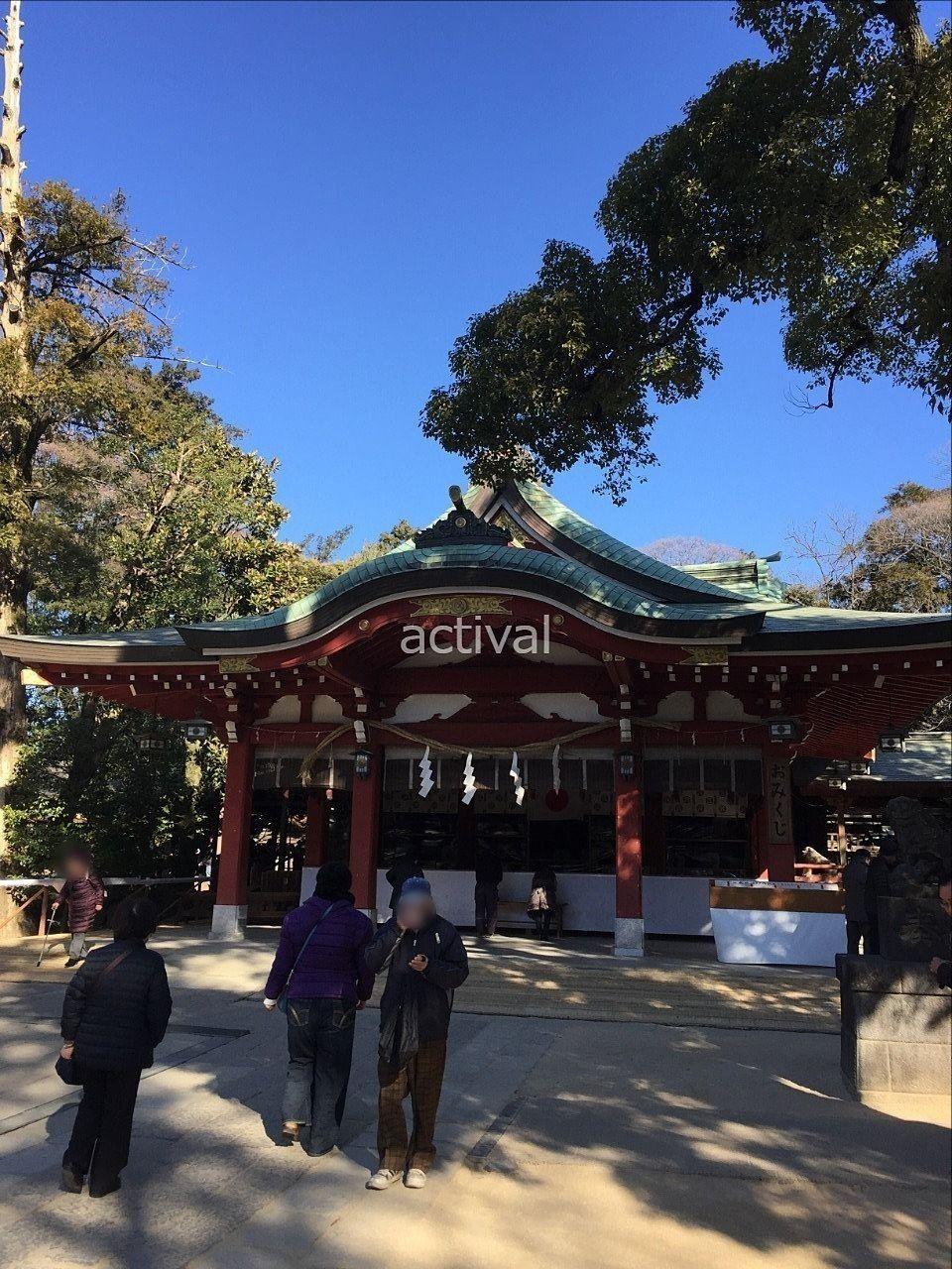 越谷の久伊豆神社へ参拝に行きました!
