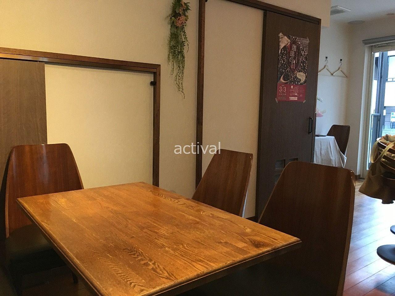 越谷市赤山町にあるカフェ「Cafe huit(カフェユイット)」さんの店内です!