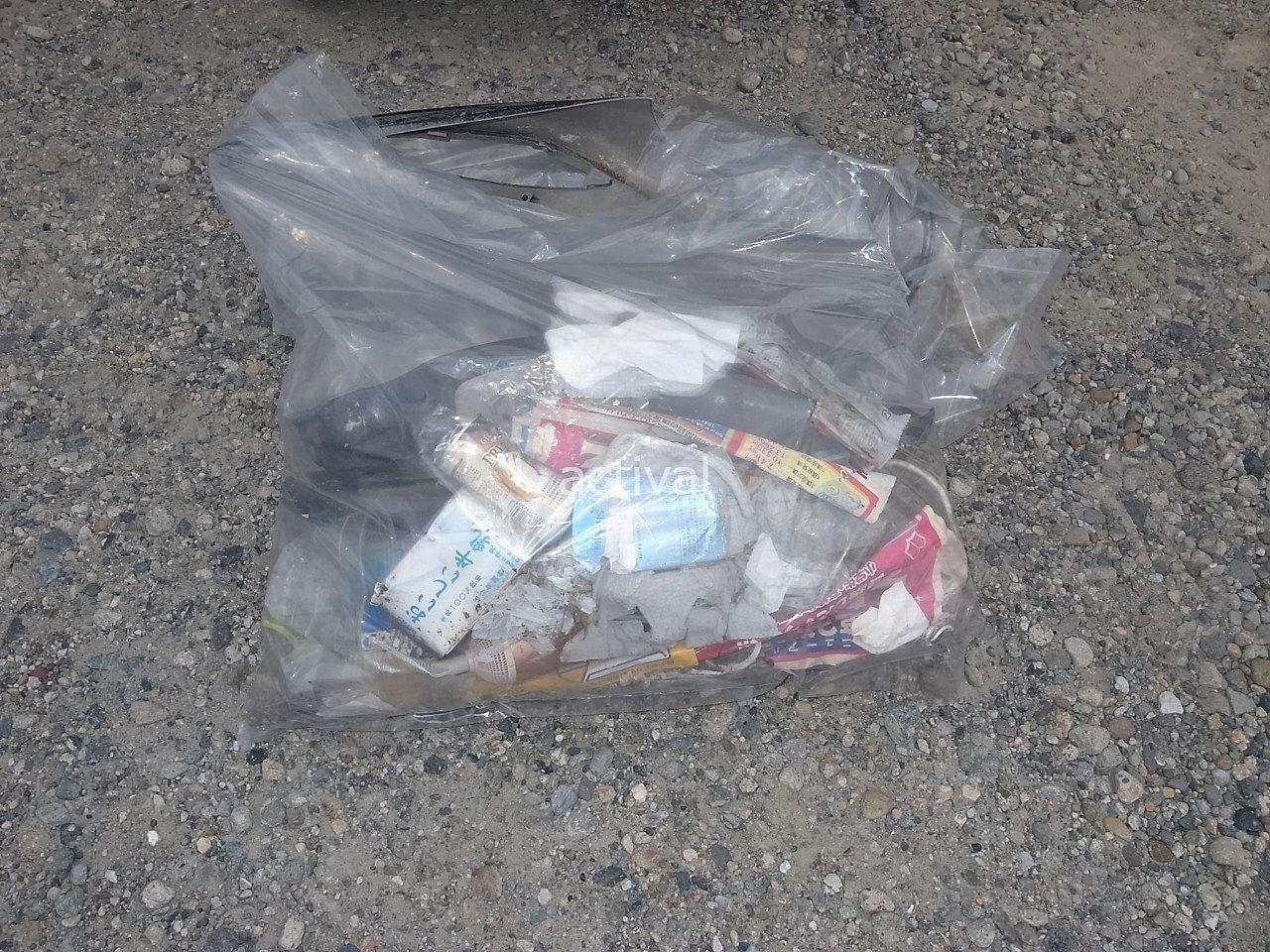 過去に月極駐車場のゴミ拾いで出たゴミ②です。