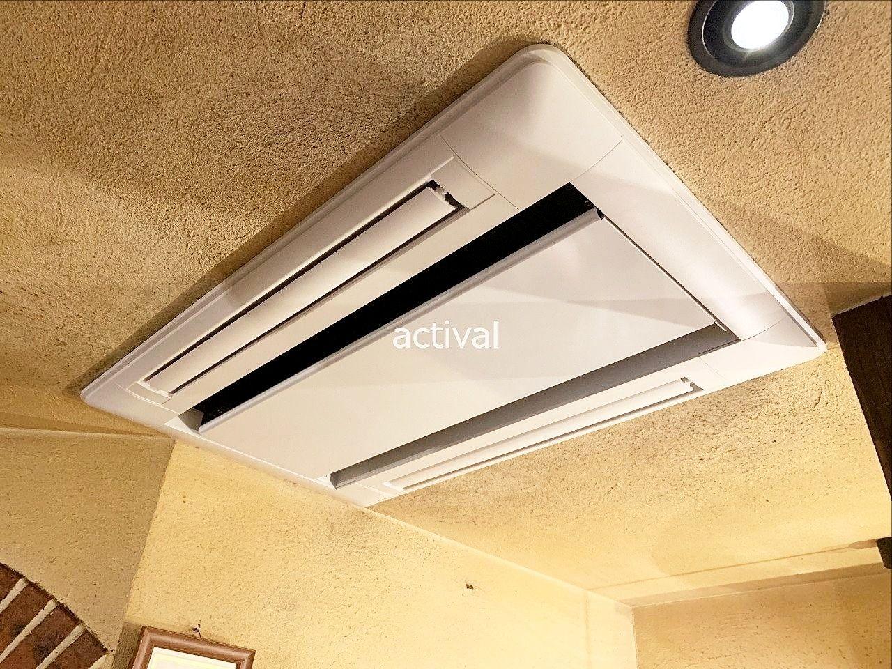 テナントさんのエアコン取り替え工事をしました。