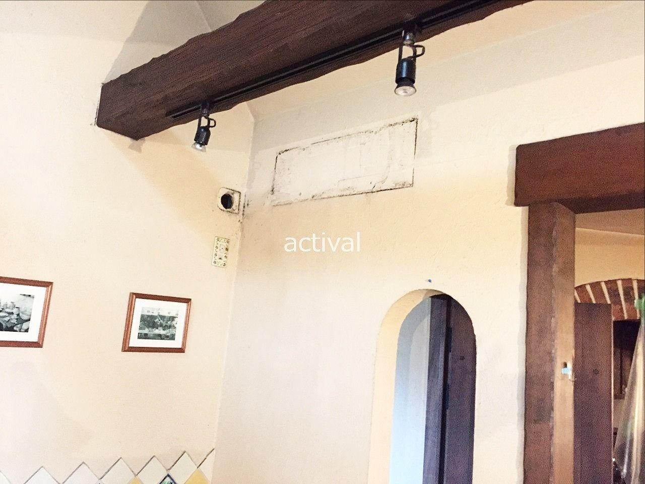 壁掛け型のエアコン工事の様子④です。