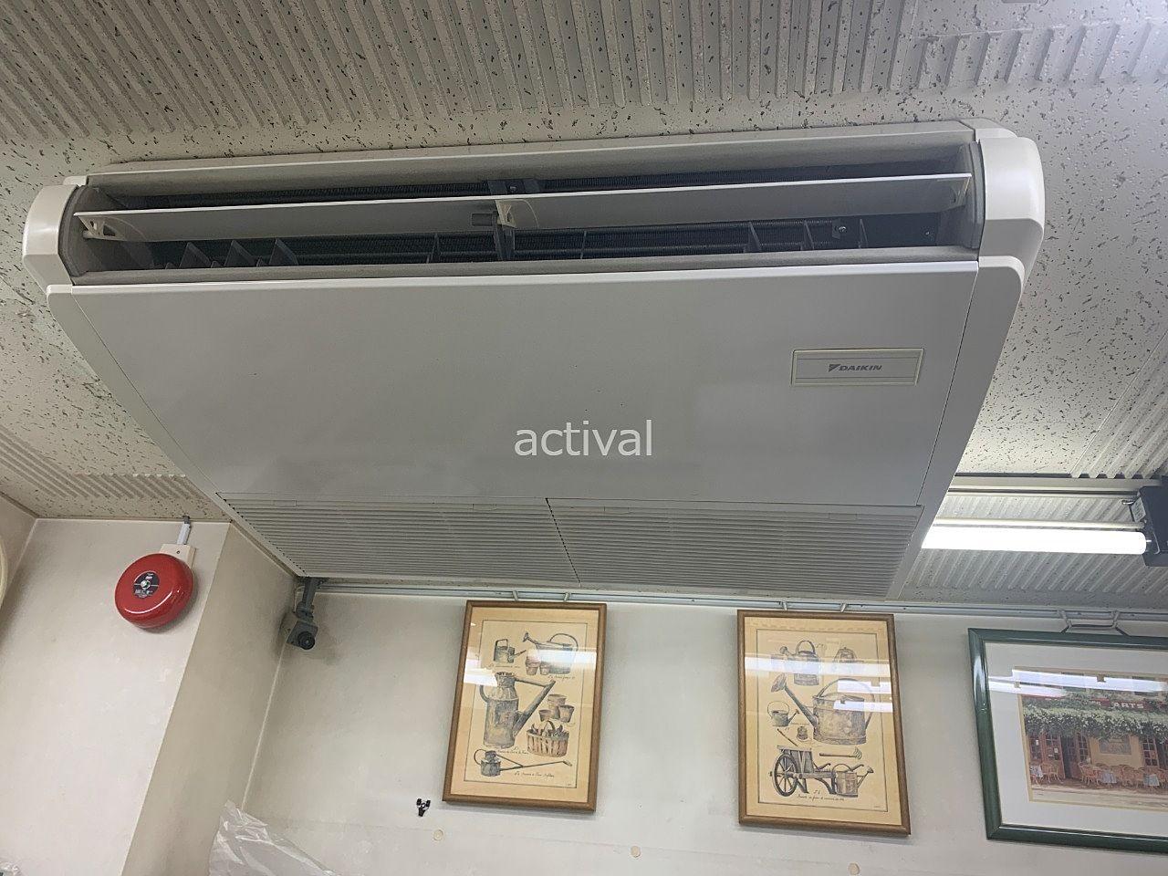 ア・ス・ヴェルデⅡにある管理事務所のエアコンフィルター清掃をしました!
