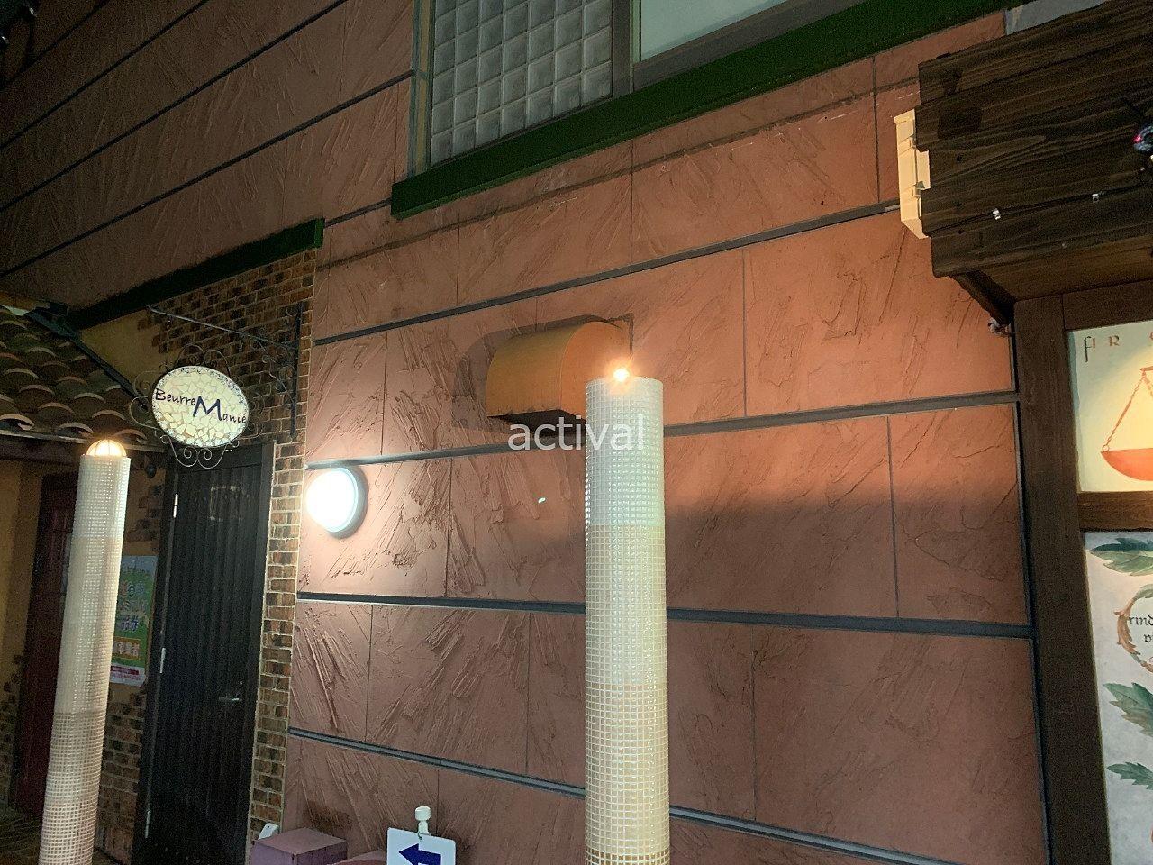 ア・ス・ヴェルデⅡの街灯の電球を交換です。
