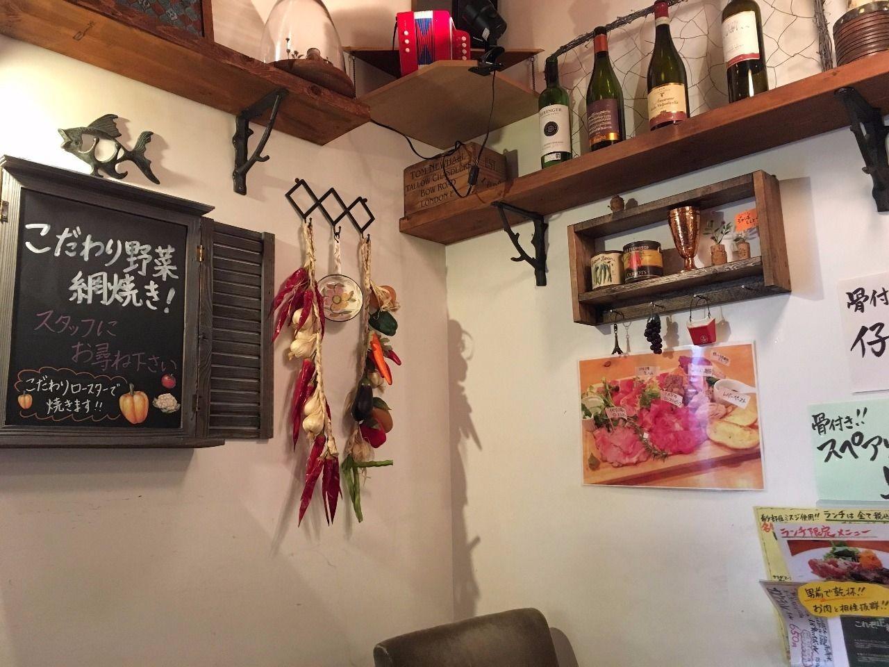 肉酒場ビストロ男前南越谷本店の店内です!