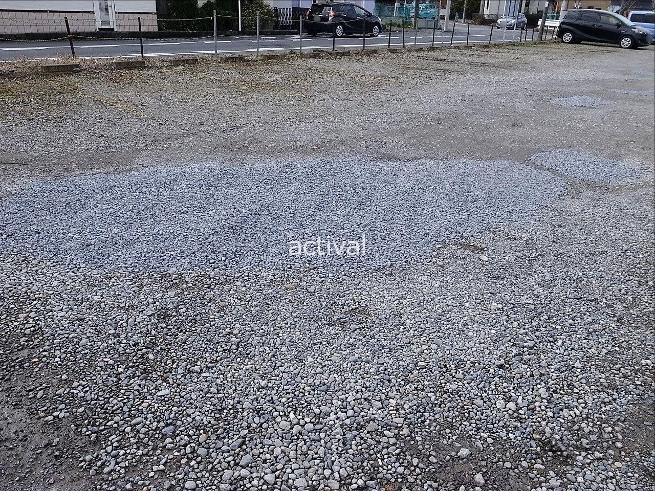 月極駐車場の補修作業完了です。