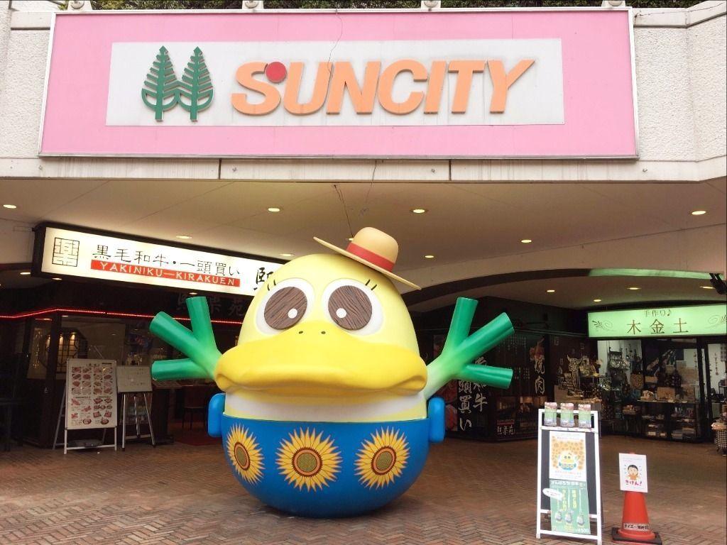 越谷サンシティの夏休みガーヤちゃんです!