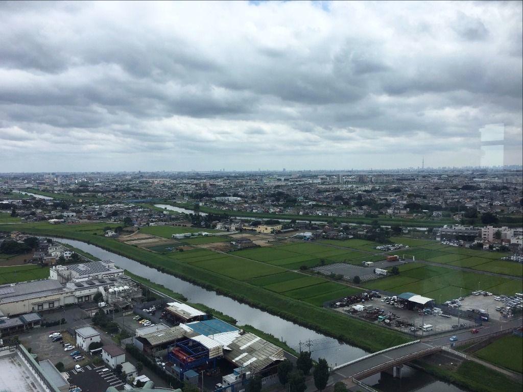 展望台からは越谷レイクタウンが見えます!