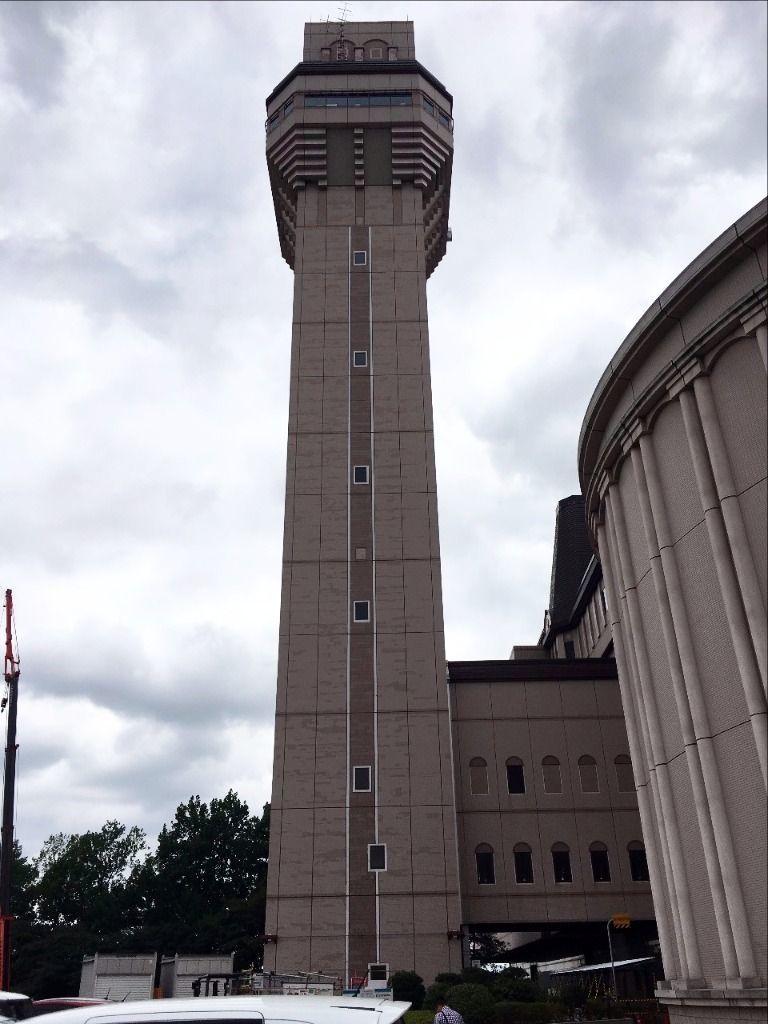 東埼玉資源環境組合第一工場にある高さ80mの展望台です!