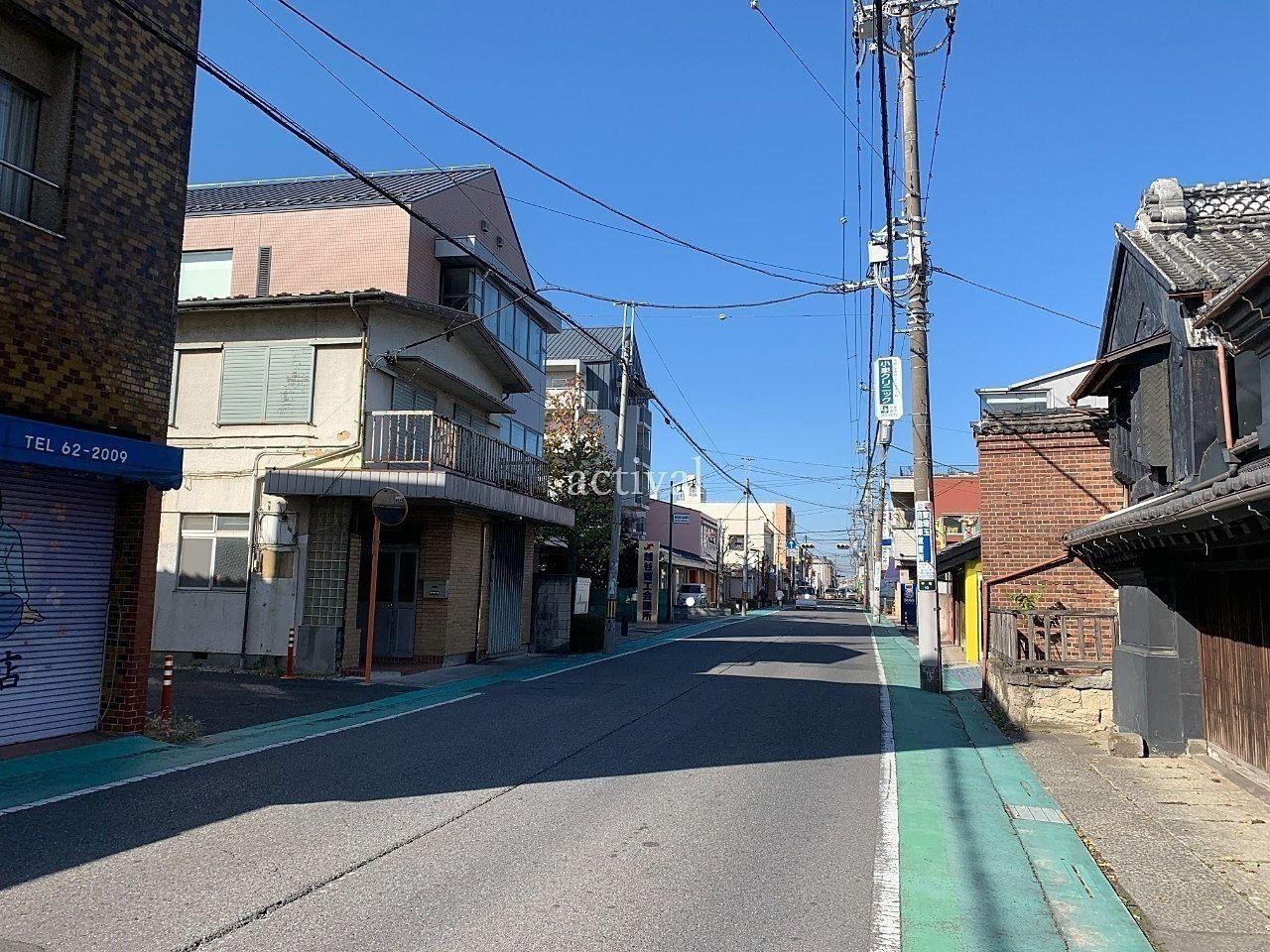 旧日光街道越ヶ谷宿付近を歩く