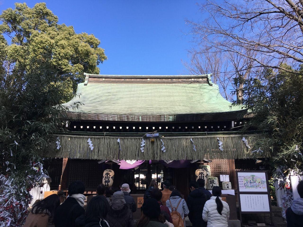 川越にある縁結びで有名な氷川神社です!!
