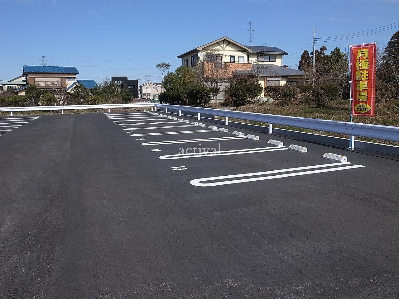 越谷市川柳町にある月極駐車場の川柳町第1駐車場の総台数は22台です。