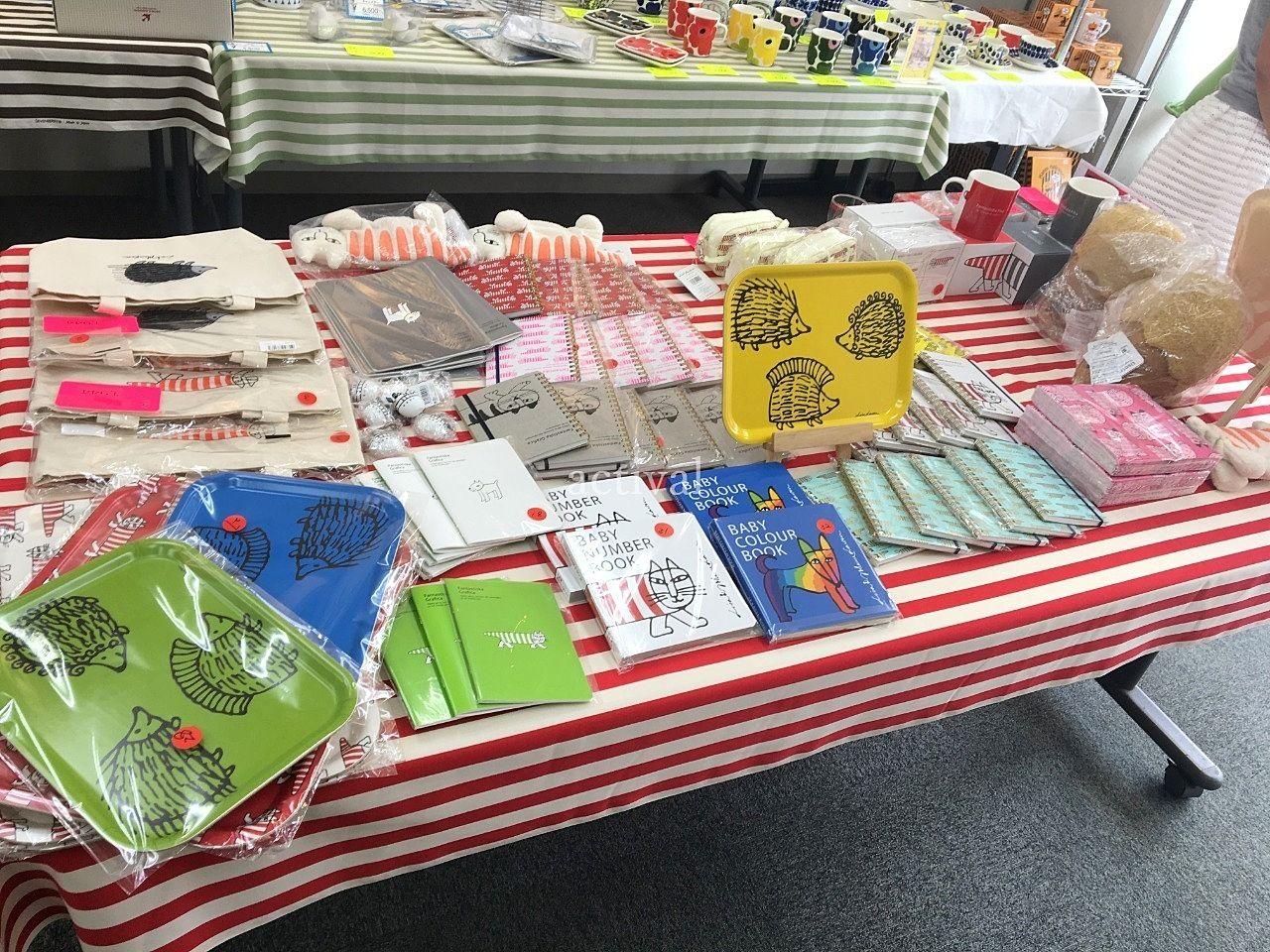 ア・ス・ヴェルデ「週貸店舗」での北欧雑貨の販売です。