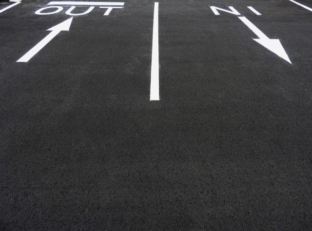 土地活用としての駐車場経営㉑ ~広い出入口と駐車しやすいレイアウト~