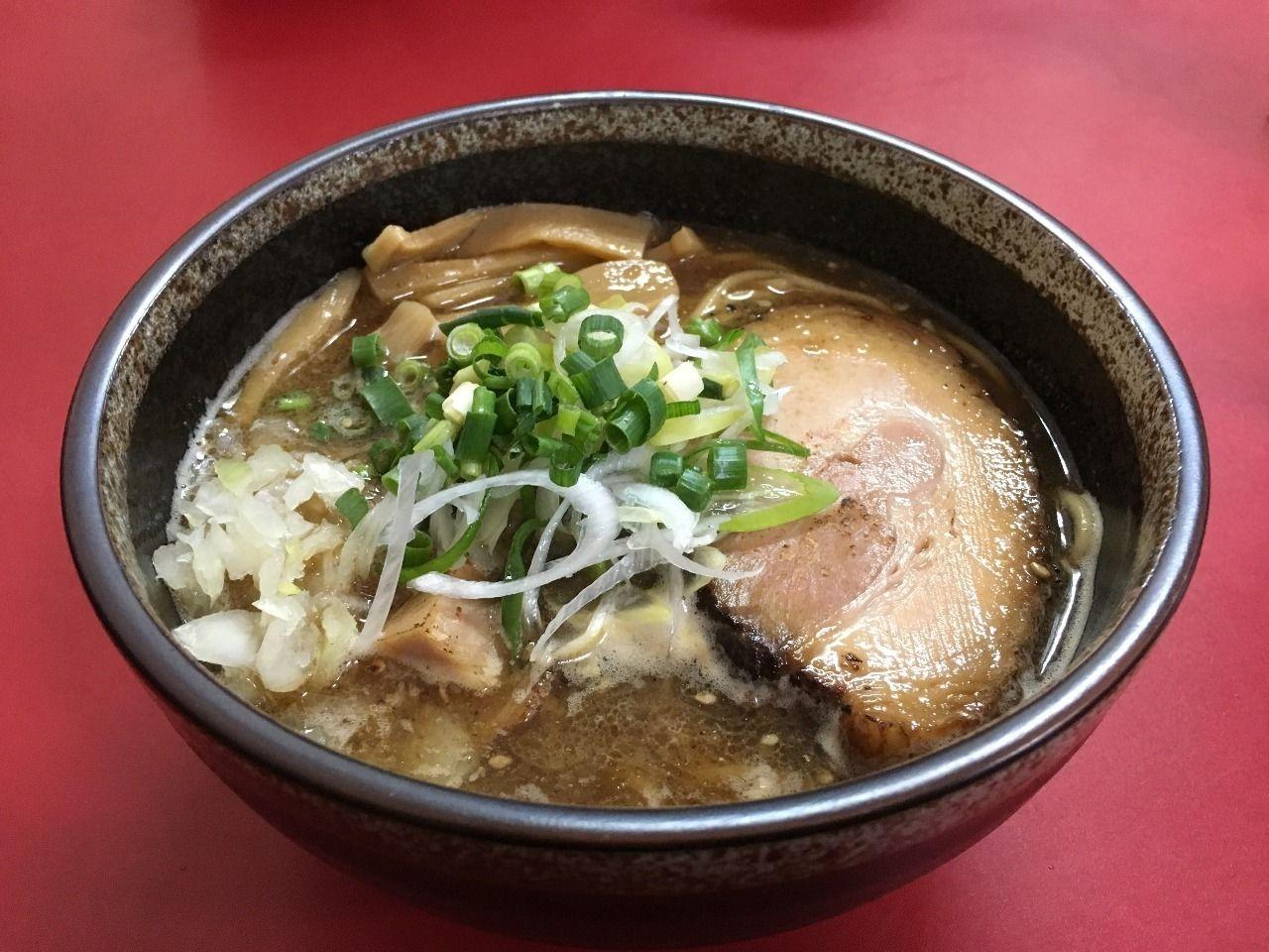 自家製麺 義匠 森田製麺所さんの魚介麺です!