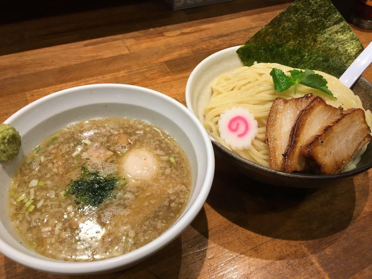 めいげんその特製炙りチャーシュー塩つけ麺 ~越谷ラーメンブログ・おかわり編⑪~