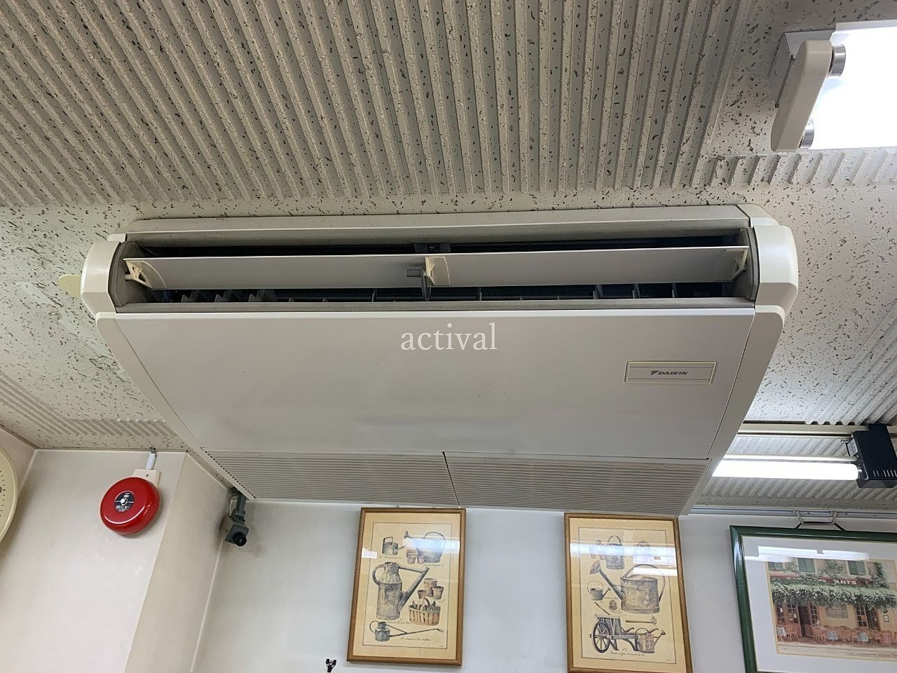ア・ス・ヴェルデ管理事務所のエアコン掃除です。