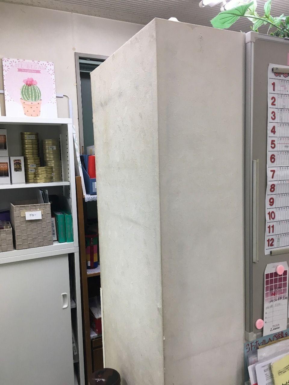 ア・ス・ヴェルデ管理事務所内の壁紙補修をしました!!
