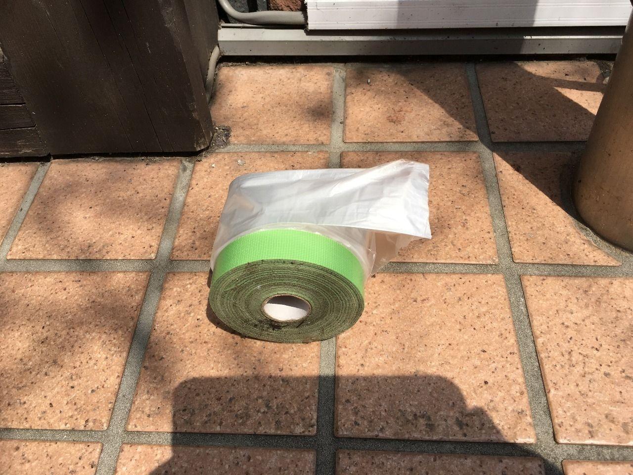 塗装をする際の養生用テープです!!