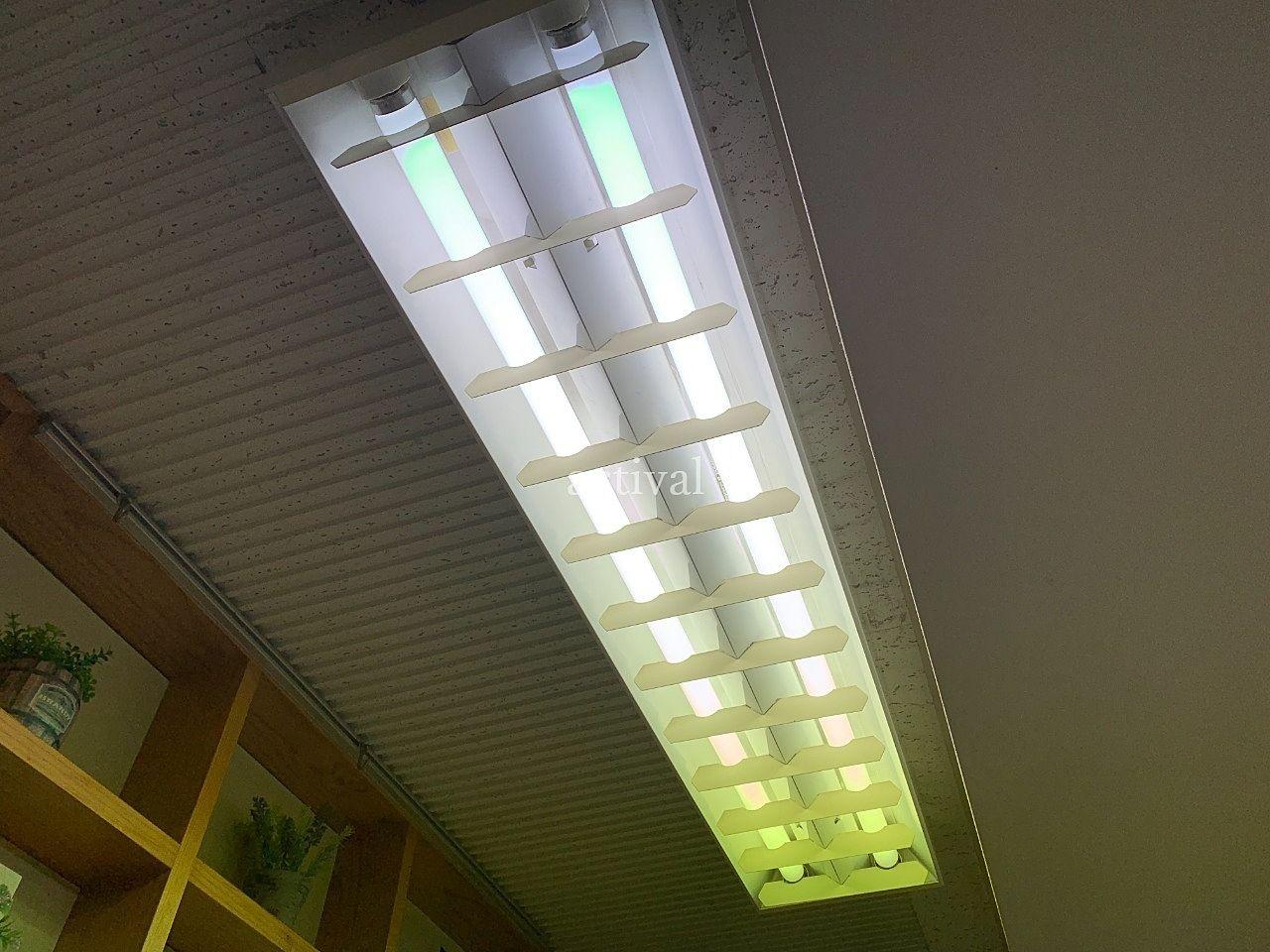 ア・ス・ヴェルデ管理事務所の蛍光灯交換です。