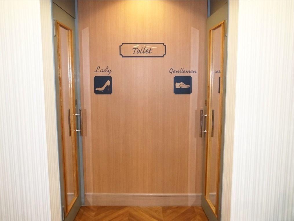 ア・ス・ヴェルデホールのトイレも一部改装しました!!