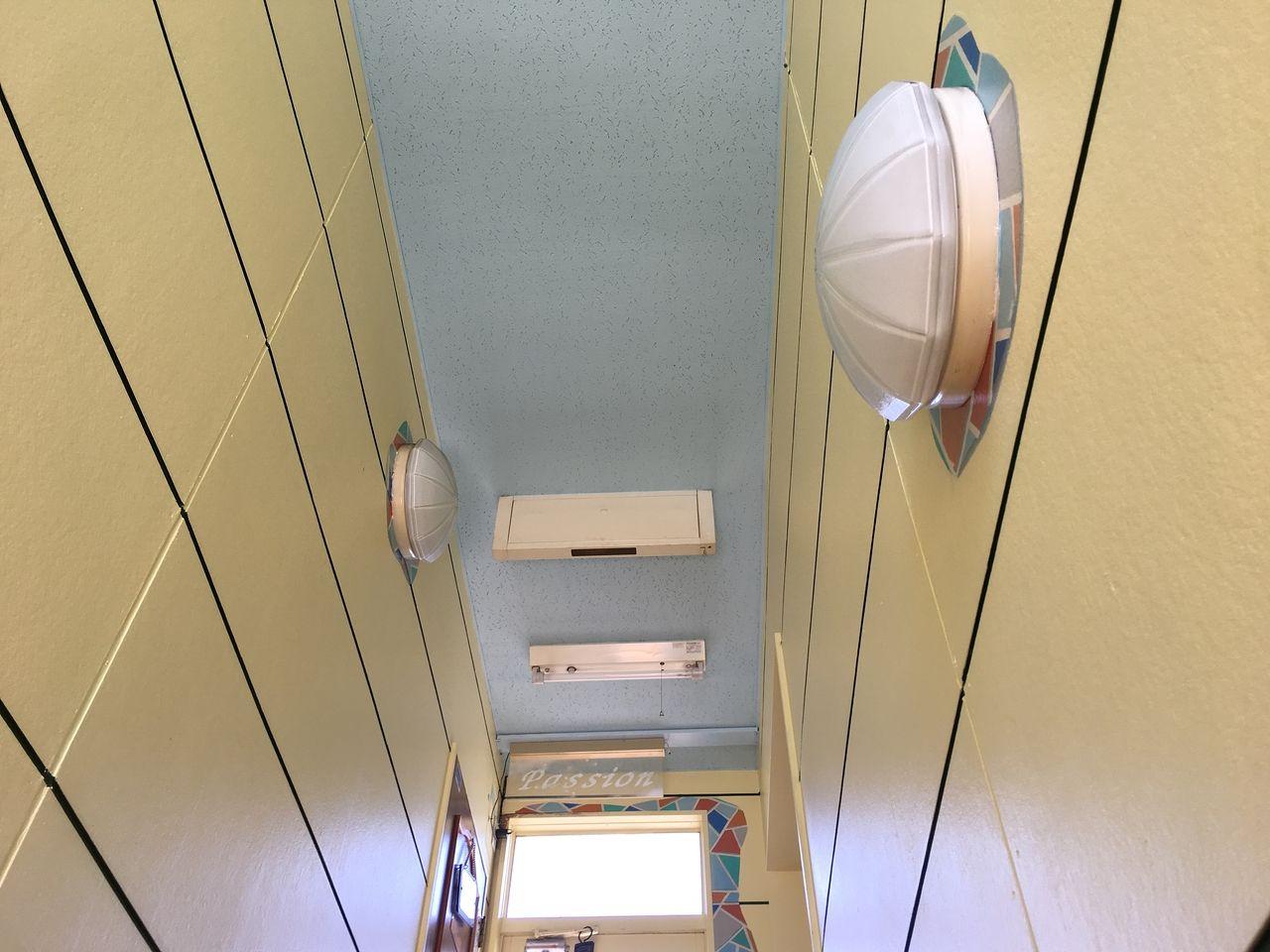 ア・ス・ヴェルデⅢの階段部分の蛍光灯を交換しました!!