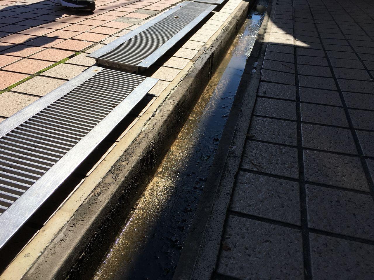 ア・ス・ヴェルデⅢにある清掃後の排水溝です!!