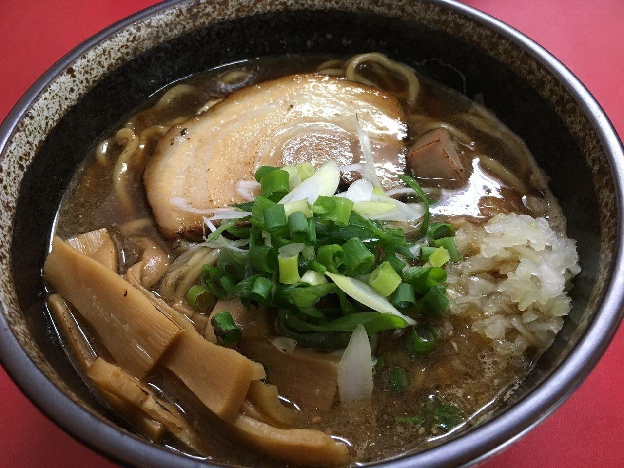 ア・ス・ヴェルデテナントのラーメン店「義匠」さんの魚介麺です!!